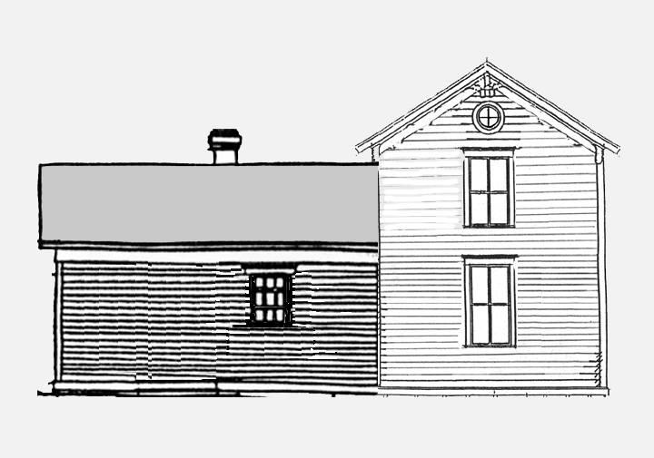Franzosenbusch House Through The Years
